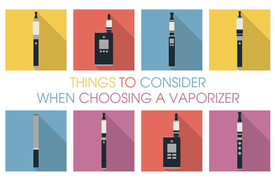 - Important Things To Consider When Choosing A New Vaporizer