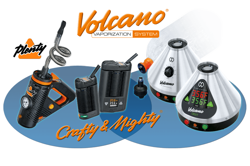 Storz and Bickel Vaporizer Collection