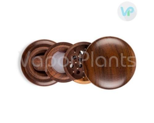 Wooden Herb Grinder - 4 Piece