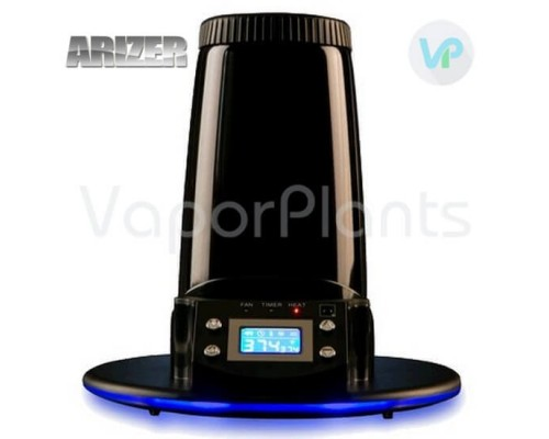 Arizer Extreme Q Vaporizer With LCD Screen On