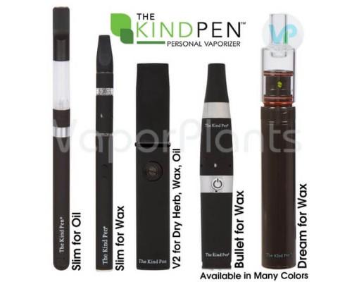 The Kind Pen Wax Vaporizers and Oil Vape Pens