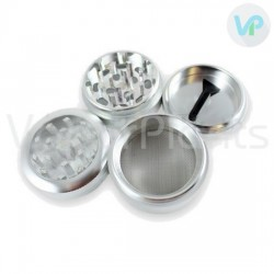 Dry Herb Grinder from Aluminum - 4 pieces shown