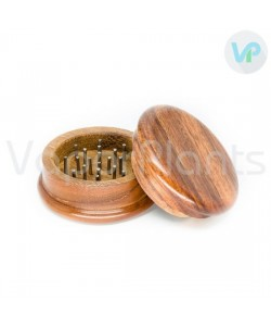 Wooden Herb Grinder - 2 Piece