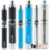 Yocan Evolve and Evolve Plus Different Colors side by side