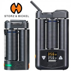 Mighty or Crafty Vaporizer for Dry Herb, Wax, Oil
