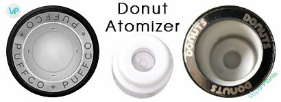 Different Donut Ceramic Atomizers