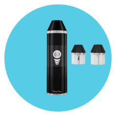 QuickDraw 500 Vaporizer in black color