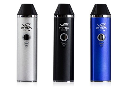 V2 Pro Series 7 in gray, black and blue