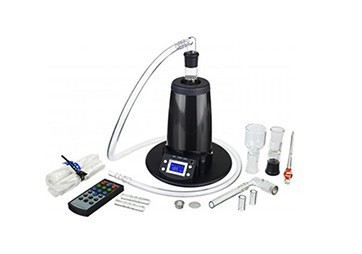 Arizer Extreme Q Desktop Vaporizer with all Accessories and Parts