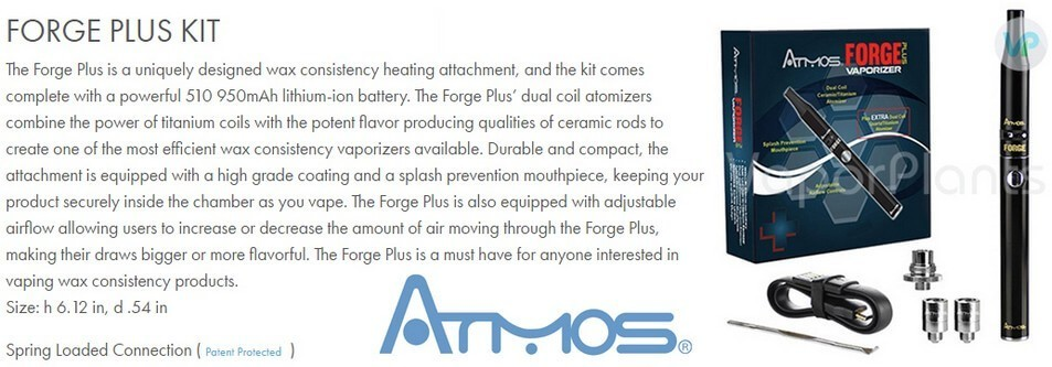Atmos Forge for Cannabis Wax and Concentrates Information