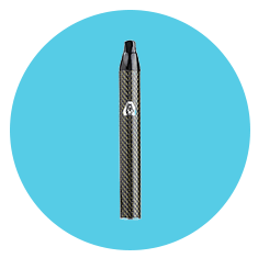 Atmos Jump Herbal Vape Pen in Black Carbon Fiber