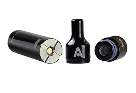 Atmos Kiln KIT mouthpiece, vape battery and wax atomizer