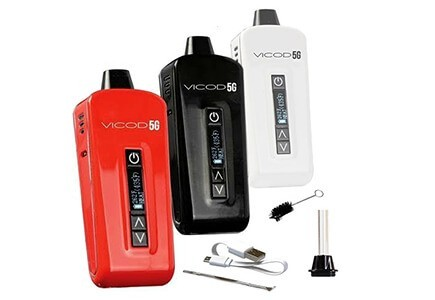 Atmos Vicod 5G in white, red and black