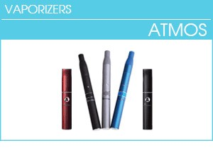 Atmos Rx, Atmos Raw, Atmos Thermo, Vaporizers for Dry Herb and Wax
