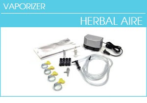 Herbal Aire Parts, High Output System, Three Mouthpieces, Pump for Upgrades