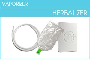 Herbalizer Parts, White Stash Box, Squeezevalve Balloons, and Vaporizer Spare Whip System