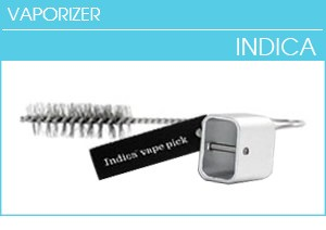 Indica Vaporizer Parts, Cleaning Brush, Herb Tool, Vape Pick
