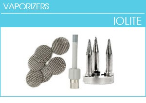 Iolite Parts, Optimizer Mesh Screens, Mouthpiece, Filling Chamber, Vape Mods