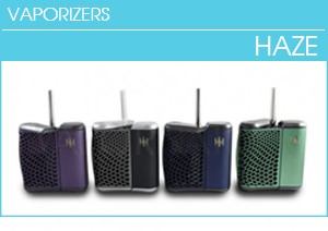 Haze Vaporizer for Oil, Dry Herbs and Wax