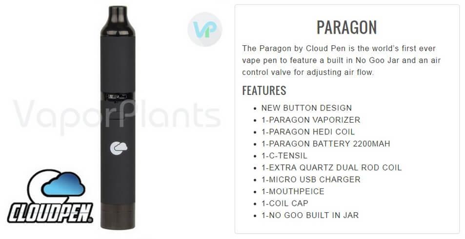 Cloud Pen Paragon Information