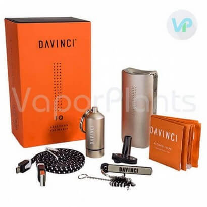 DaVinci IQ Vaporizer for Cannabis with All Accessories