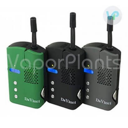 DaVinci Vaporizers colors side by side