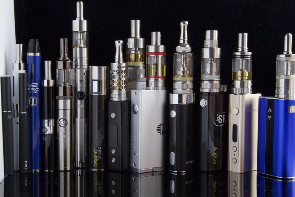 the different types of vapes