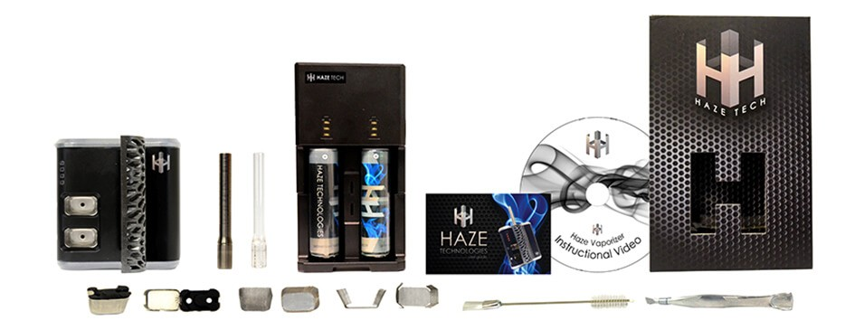 Haze Vaporizer Kit and all Accessories