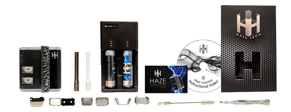 Haze Vaporizer Kit and all Accessories
