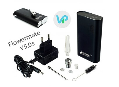 Flowermate Vaporizer with all Accessories