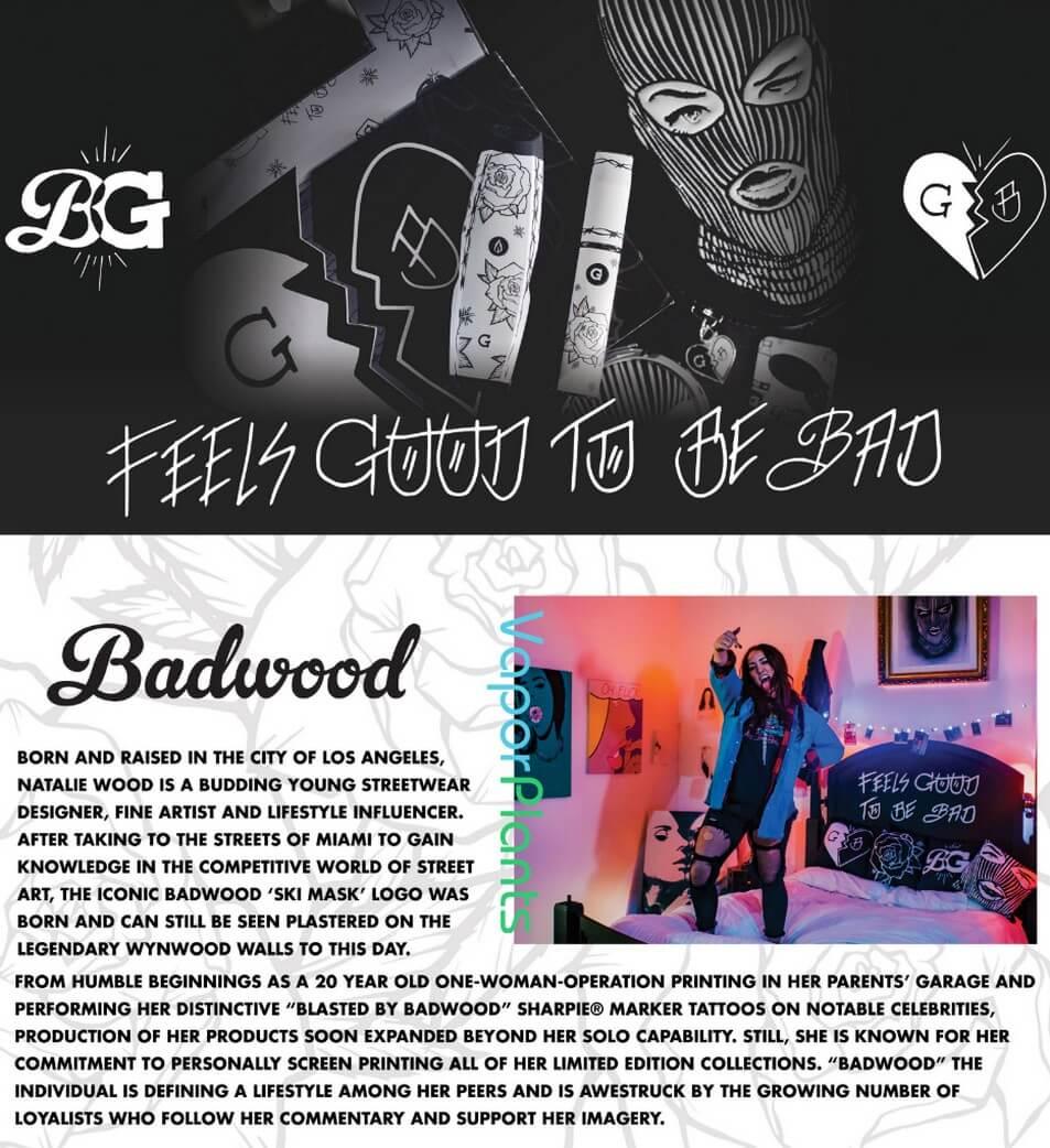 G Pen Elite Badwood Vaporizer for Cannabis Info-Graphics
