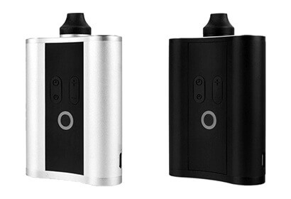 HipVap Vaporizer in black and silver color