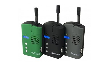 DaVinci Vaporizer for Dry Herbs all Colors Side by Side