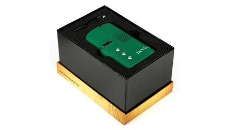 DaVinci Vaporizer for Dry Herb Inside Packaging Box