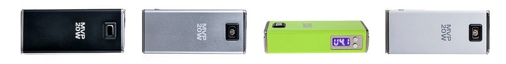 Innokin MVP 20W in silver, grey, black and green
