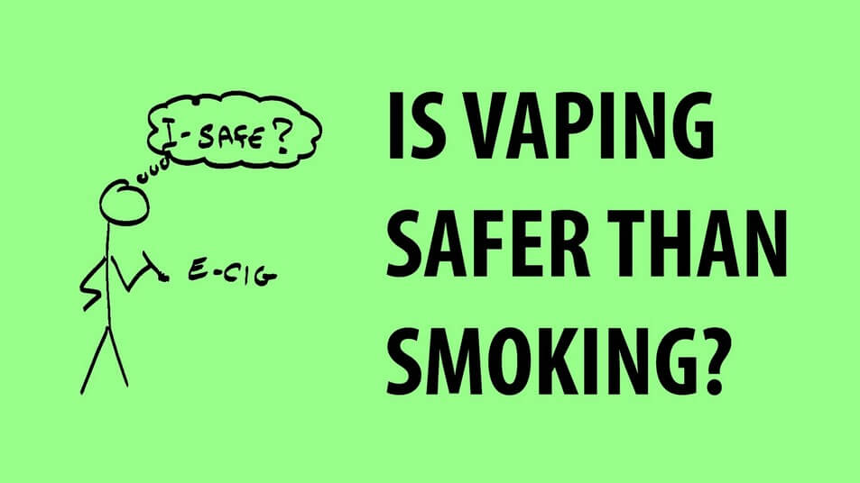 Is Vaping safer then Smoking Banner