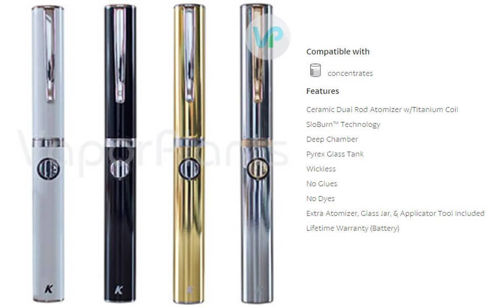 KandyPens Executive Vaporizer Description