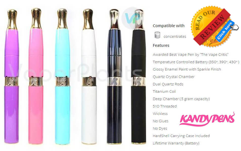 KandyPens Galaxy Vaporizer for Cannabis Wax Description
