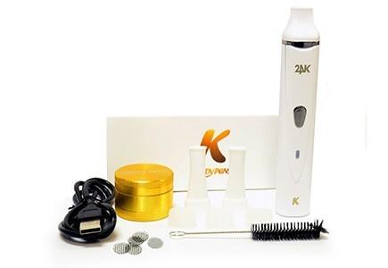 KandyPens K-Vape dry herb Vaporizer in black