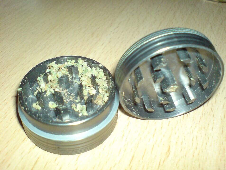 Metal Herb Grinder Open