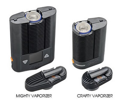 Crafty vs Mighty Vaporizer by Storz and Bickel