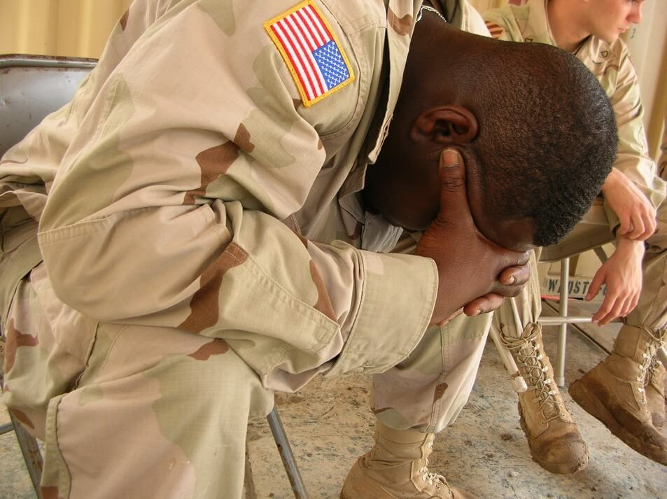 Military Men Suffering from PTSD