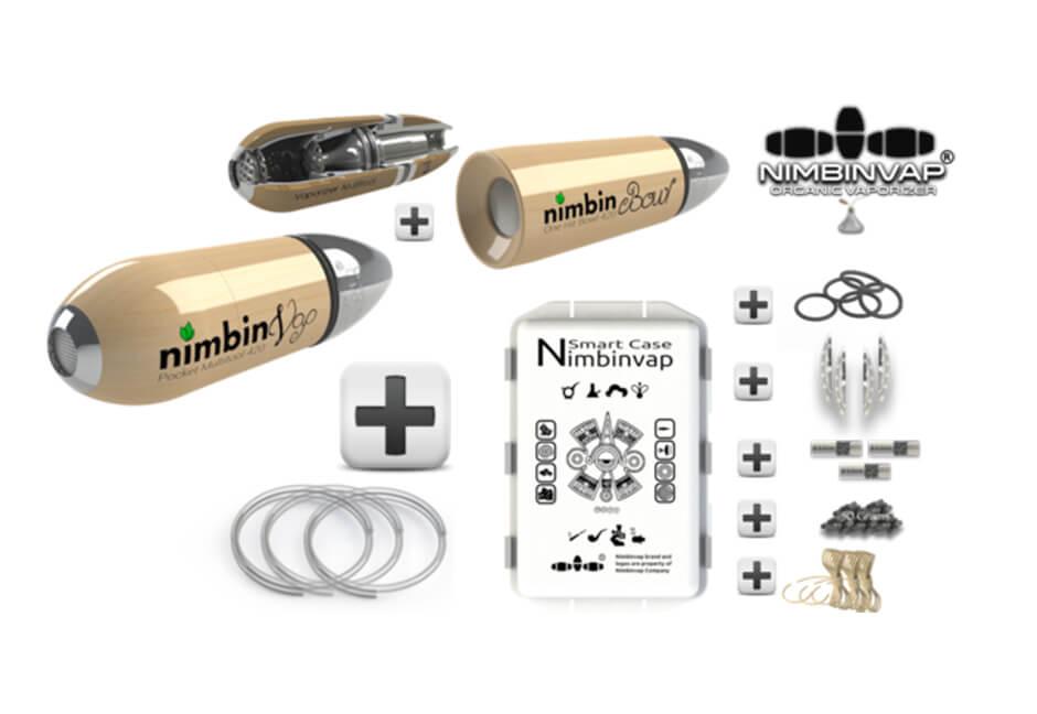 Nimbinvap 4.3 Vaporizer with all Accessories