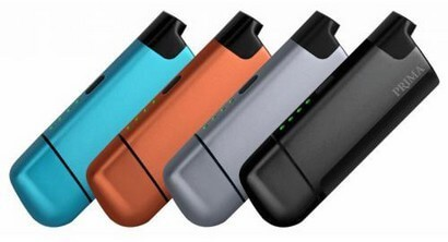 Prima Vaporizer all Colors Side by Side