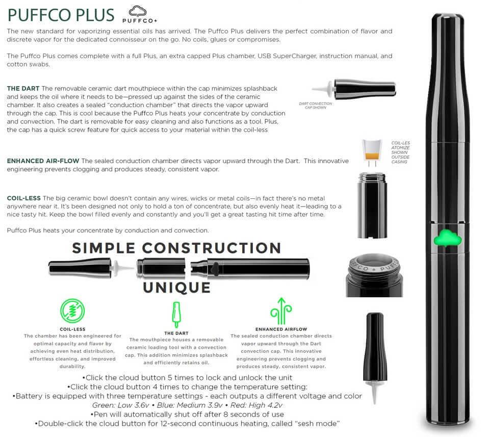 PuffCo Plus Vape Information