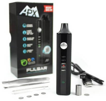 Pulsar APX Vaporizer for Dry Herb with all Accessories and Box