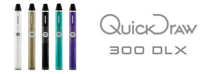 QuickDraw 300 Vaporizer all Colors and Logo