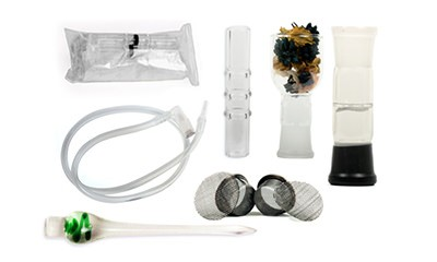 Different Vaporizer Accessories and Part side by Side