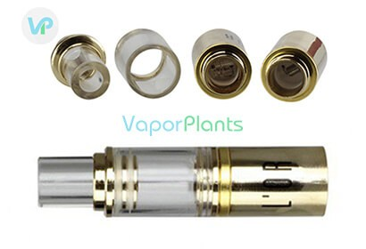 Atmos L'Or atomizer with heating chamber and coil