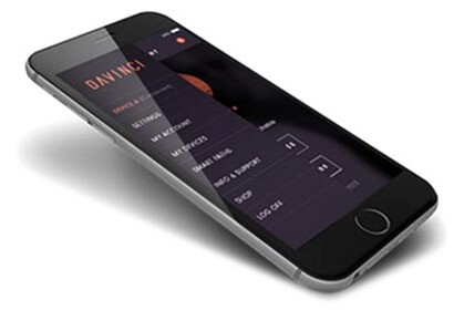 DaVinci IQ mobile app on a smartphone